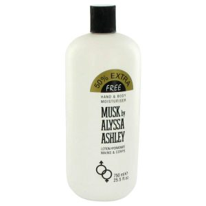 Alyssa Ashley Musk by Houbigant Body Lotion 25.5 oz Women