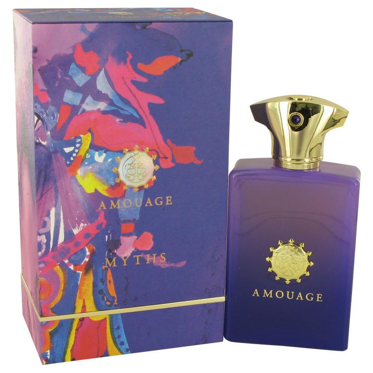Amouage Myths by Amouage Eau De Parfum Spray 3.4 oz Men
