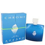 Chrome Under The Pole by Azzaro Eau De Toilette Spray 3.4 oz Men