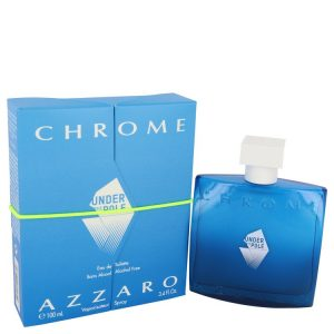 Chrome Under The Pole by Azzaro Eau De Toilette Spray 3.4 oz Men