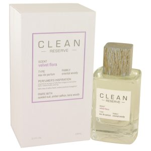 Clean Velvet Flora by Clean Eau De Parfum Spray 3.4 oz Women