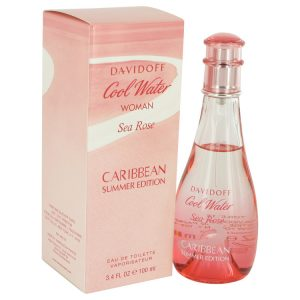 Cool Water Sea Rose Caribbean Summer by Davidoff Eau De Toilette Spray 3.4 oz Women