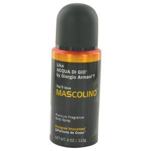 Designer Imposters Mascolino by Parfums De Coeur Body Spray 4 oz Men