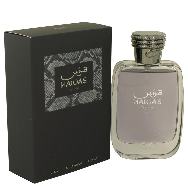 Hawas by Rasasi Eau De Parfum Spray 3.33 oz Men