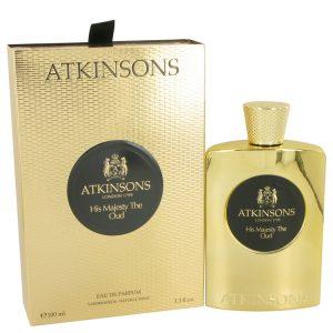 His Majesty The Oud by Atkinsons Eau De Parfum Spray 3.3 oz Men