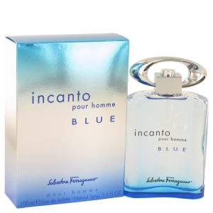 Incanto Blue by Salvatore Ferragamo Eau De Toilette Spray 3.4 oz Men