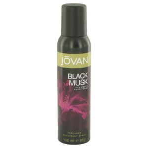 Jovan Black Musk by Jovan Deodorant Spray 5 oz Women