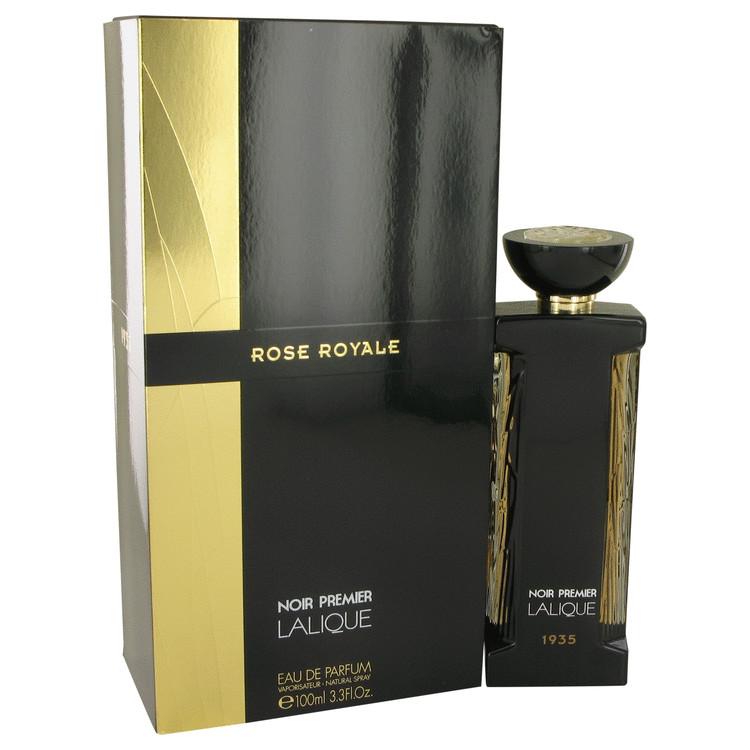 Rose Royale by Lalique Eau De Parfum Spray 3.3 oz Women