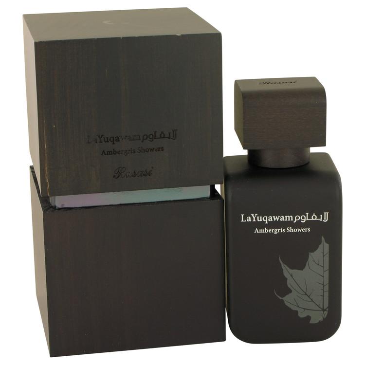 Ambergis Showers by Rasasi Eau De Parfum Spray 2.5 oz Women
