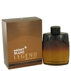 Montblanc Legend Night by Mont Blanc Eau De Parfum Spray 3.3 oz Men