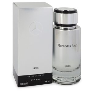Mercedes Benz Silver by Mercedes Benz Eau De Toilette Spray 4 oz Men