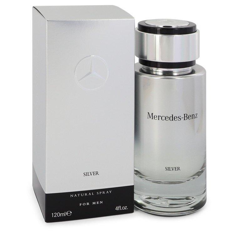 Mercedes Benz Silver by Mercedes Benz Eau De Toilette Spray 4 oz Men