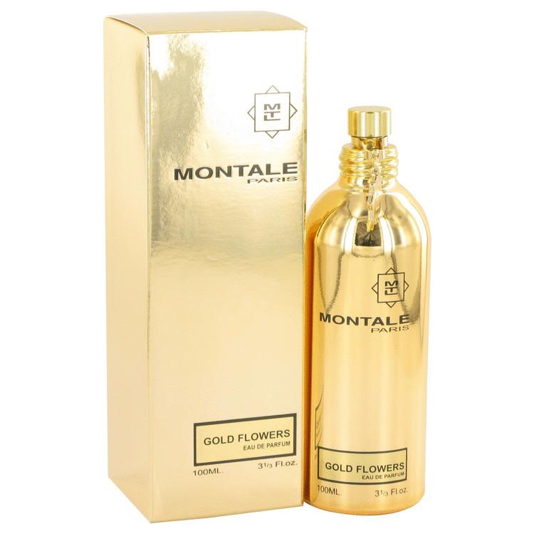 Montale Gold Flowers by Montale Eau De Parfum Spray 3.3 oz Women