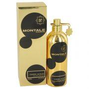 Montale Dark Aoud by Montale Eau De Parfum Spray (Unisex) 3.4 oz Men