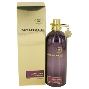 Montale Aoud Ever by Montale Eau De Parfum Spray (Unisex) 3.4 oz Women