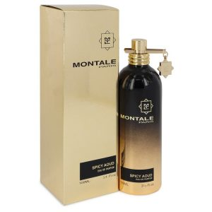 Montale Spicy Aoud by Montale Eau De Parfum Spray (Unisex) 3.4 oz Women