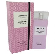 Notebook Rose Musk & Vanilla by Selectiva SPA Eau De Toilette Spray 3.4 oz Women
