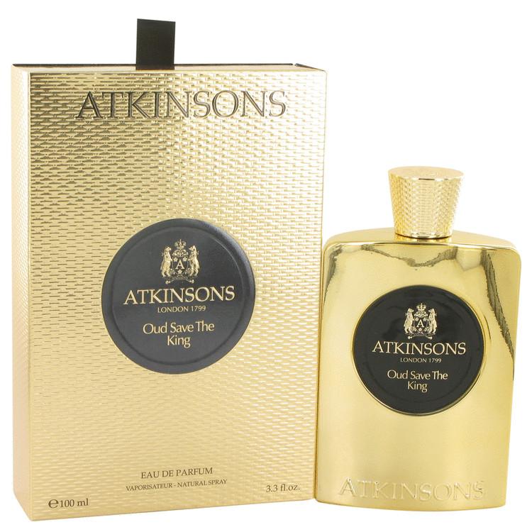 Oud Save The King by Atkinsons Eau De Parfum Spray 3.3 oz Men