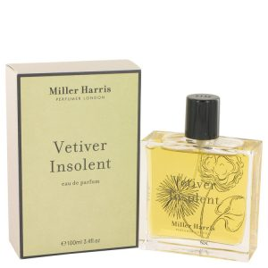 Vetiver Insolent by Miller Harris Eau De Parfum Spray 3.4 oz Women