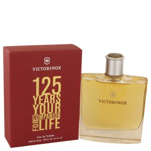 Victorinox 125 Years by Victorinox Eau De Toilette Spray (Limited Edition) 3.4 oz Men