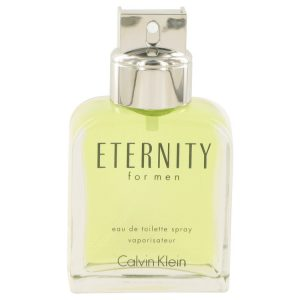 ETERNITY by Calvin Klein Eau De Toilette Spray (Tester) 3.4 oz Men