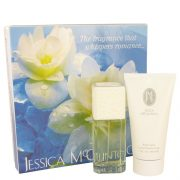 JESSICA Mc CLINTOCK by Jessica McClintock Gift Set -- 3.4 oz Eau De Parfum Spray + 5 oz Body Lotion Women