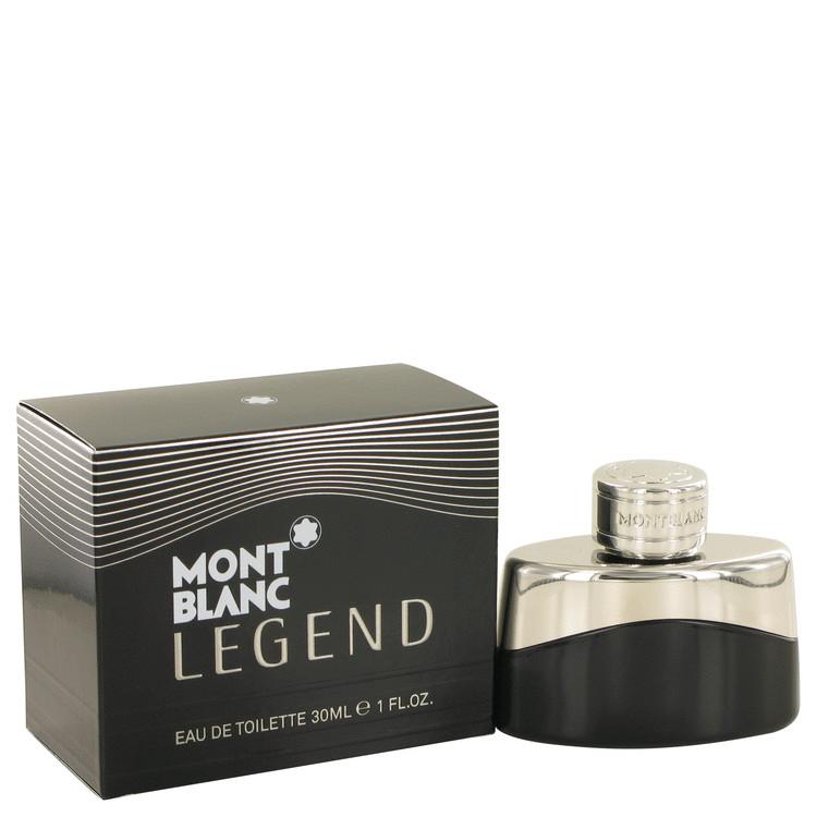 MontBlanc Legend by Mont Blanc Eau De Toilette Spray 1 oz Men
