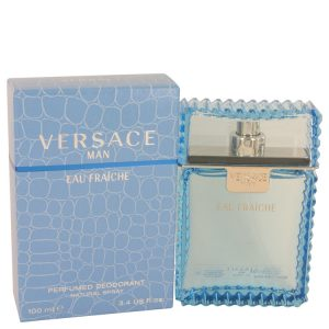 Versace Man by Versace Eau Fraiche Deodorant Spray 3.4 oz Men