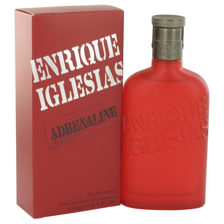 Adrenaline by Enrique Iglesias Eau De Toilette Spray 3.4 oz Men