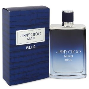 Jimmy Choo Man Blue by Jimmy Choo Eau De Toilette Spray 3.4 oz Men