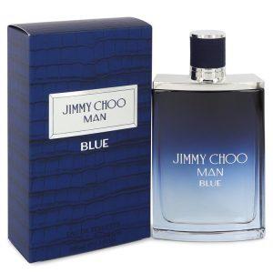 Jimmy Choo Man Blue by Jimmy Choo Eau De Toilette Spray 3.4 oz Men