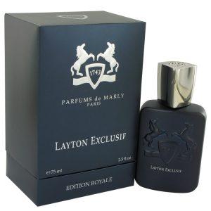 Layton Exclusif by Parfums De Marly Eau De Parfum Spray 2.5 oz Men