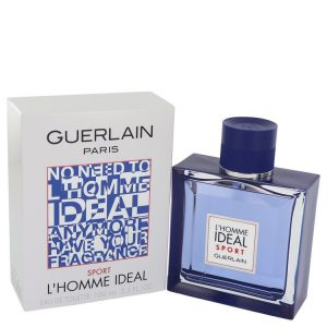 L'homme Ideal Sport by Guerlain Eau De Toilette Spray 3.3 oz Men