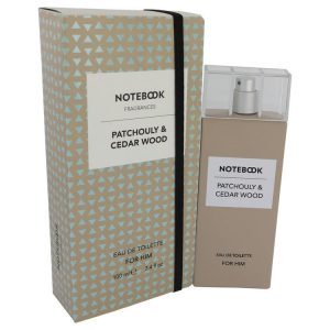Notebook Patchouly & Cedar Wood by Selectiva SPA Eau De Toilette Spray 3.4 oz Men