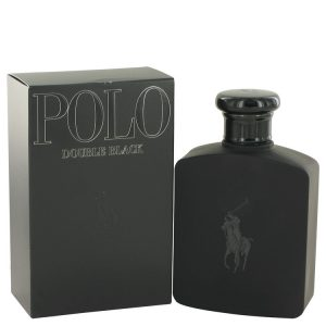 Polo Double Black by Ralph Lauren Eau De Toilette Spray 4.2 oz Men