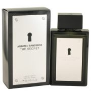 The Secret by Antonio Banderas Eau De Toilette Spray 3.4 oz Men