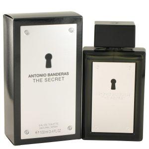 The Secret by Antonio Banderas Eau De Toilette Spray 3.4 oz Men