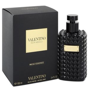 Valentino Noir Absolu Musc Essence by Valentino Eau De Parfum Spray (Unisex) 3.4 oz Women