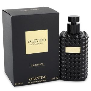 Valentino Noir Absolu Oud Essence by Valentino Eau De Parfum Spray (Unisex) 3.4 oz Women