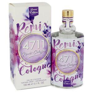 4711 Remix Lavender by 4711 Eau De Cologne Spray (Unisex) 5.1 oz Men