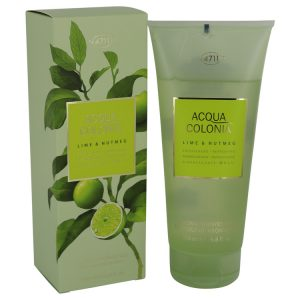 4711 Acqua Colonia Lime & Nutmeg by Maurer & Wirtz Shower Gel 6.8 oz Women