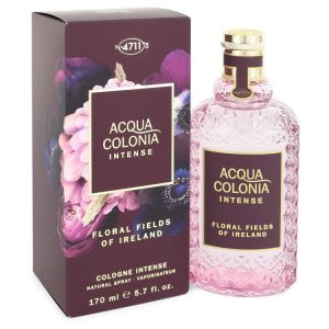 4711 Acqua Colonia Floral Fields of Ireland by Maurer & Wirtz Eau De Cologne Intense Spray (Unisex) 5.7 oz Women