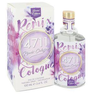4711 Remix Lavender by 4711 Eau De Cologne Spray (Unisex) 3.4 oz Men