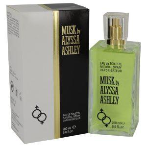 Alyssa Ashley Musk by Houbigant Eau De Toilette Spray 6.8 oz Women