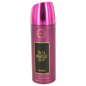 Armaf De La Marque Rouge by Armaf Body Spray (Alcohol Free) 6.7 oz Women