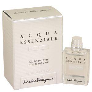Acqua Essenziale Colonia by Salvatore Ferragamo Mini EDT .17 oz Men