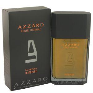 Azzaro Intense by Azzaro Eau De Parfum Spray 3.4 oz Men