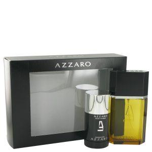 AZZARO by Azzaro Gift Set -- 3.4 oz Eau De Toilette Spray + 2.2 oz Deodorant Stick Men