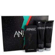 ANIMALE by Animale Gift Set -- 3.3 oz Eau De Toilette Spray + 3.4 oz After Shave Balm + 3.4 oz Body Wash Men