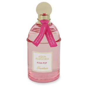 Aqua Allegoria Rosa Pop by Guerlain Eau De Toilette Spray (Tester) 4.2 oz Women